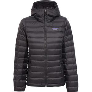 Patagonia Down Sweater Hoodie Damen schwarz schwarz