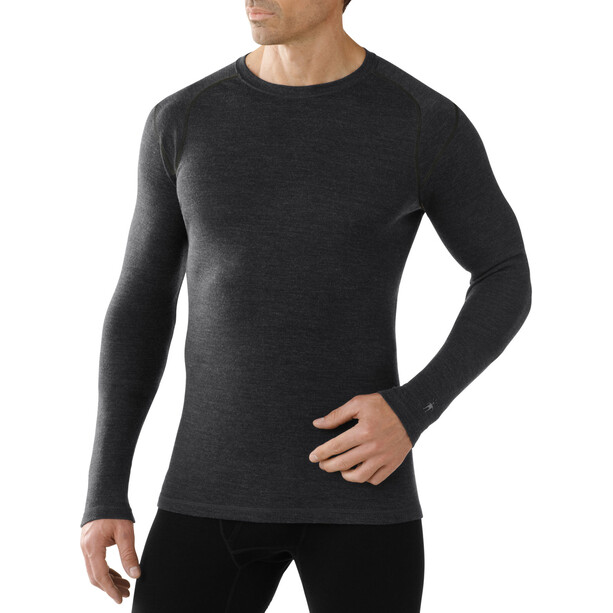 Smartwool Merino 250 Baselayer Crew Herren charcoal heather