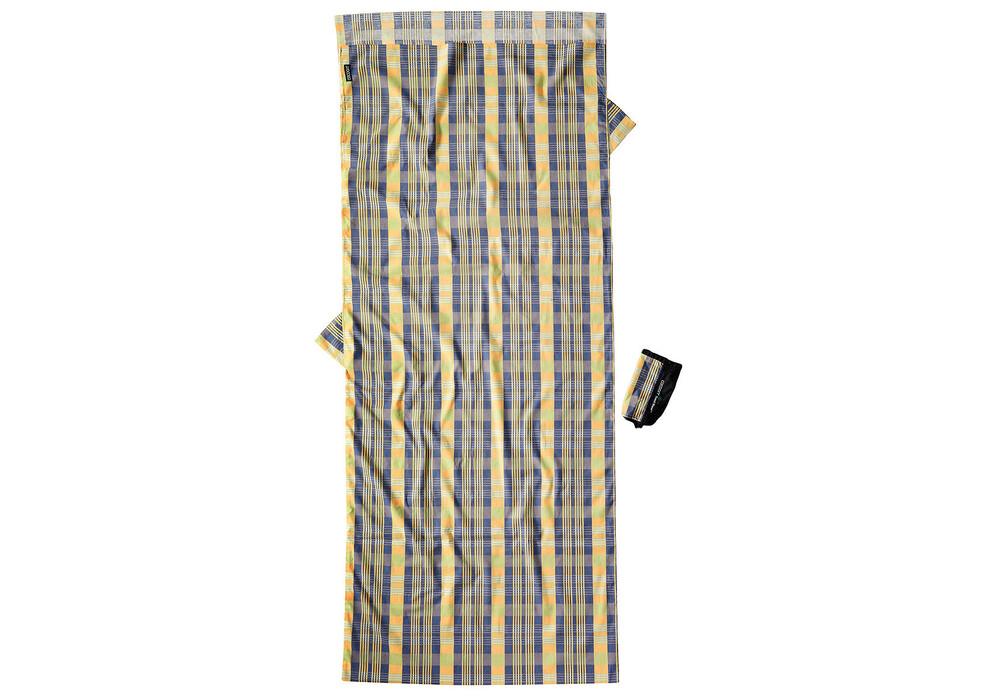 cocoon drap sac de couchage en coton jaune bleu boutique de v los en ligne. Black Bedroom Furniture Sets. Home Design Ideas