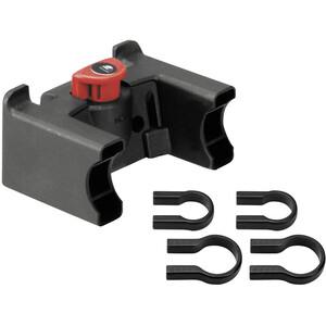 KlickFix Styradapter med universal lås, sort sort
