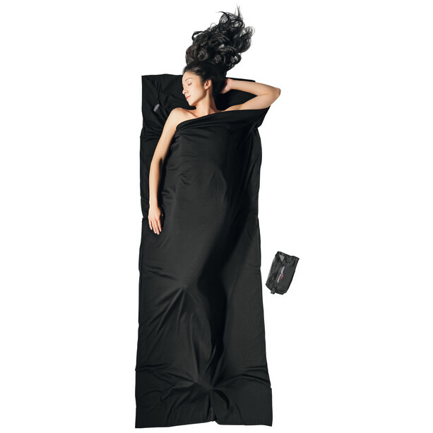 Cocoon TravelSheet Inlet Merino Wool black