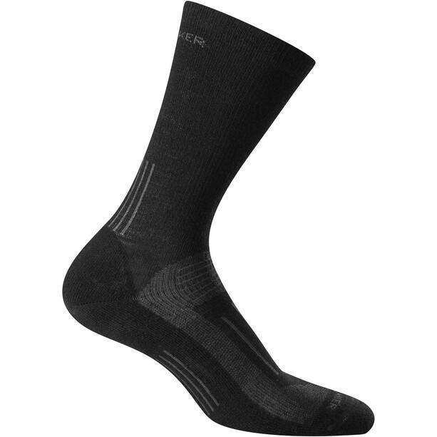Icebreaker Hike Light Crew Socken Herren black