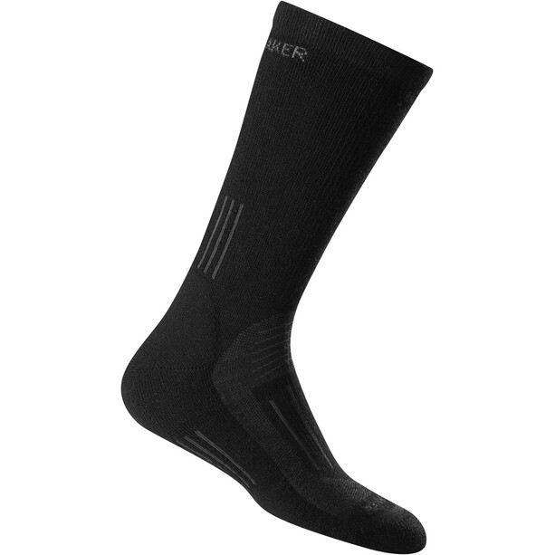 Icebreaker Hike Socken Medium Crew Damen black