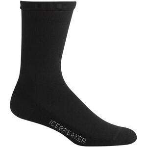 Icebreaker Lifestyle Light Crew-Cut Socken Herren black black