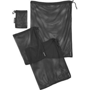 Cocoon Mesh Stuff Sack 4er-Set black black