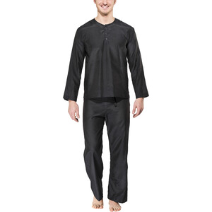 Traveler's Tree Travel Pyjama Herren Herren pirate black pirate black