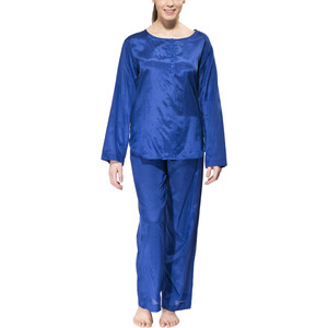 Traveler's Tree Travel Pyjama Women Damen 1001 blue 1001 blue