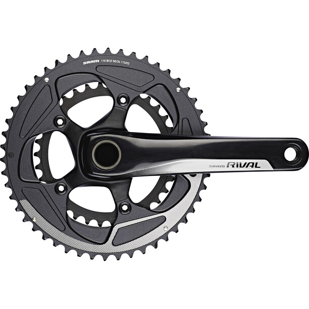SRAM Rival 22 Crank Set 50/34 GXP 11-speed black