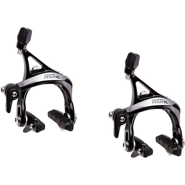 SRAM Rival 22 Felgenbremsen Set Vorderrad + Hinterrad schwarz