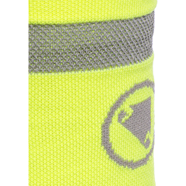 Endura Luminite Socken TwinPack hi-viz yellow/reflective