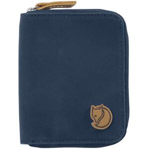 Fjällräven Zip Brieftasche blau blau