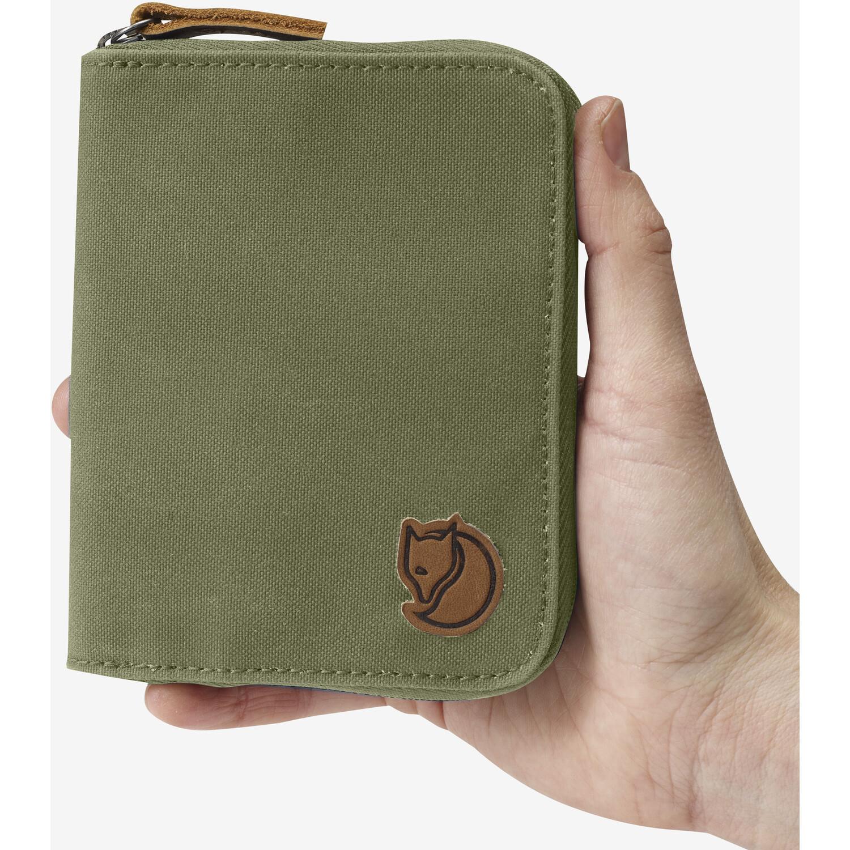 Fjällräven Zip Brieftasche green