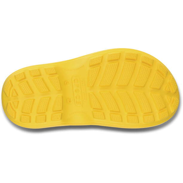 Crocs Handle It Regenstiefel Kinder gelb