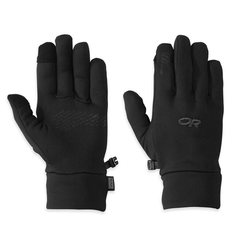 Outdoor Research PL 150 Sensor Gloves Men black M 2018 Fleece- & Strickhandschuh
