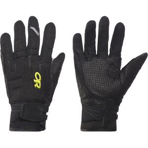 Outdoor Research Alibi II Handschuhe black/lemongrass black/lemongrass
