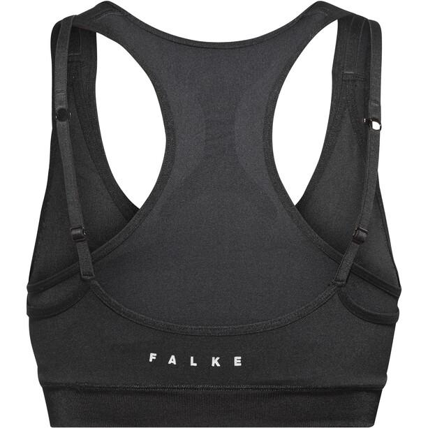 Falke Cross Back BH Top Damen black