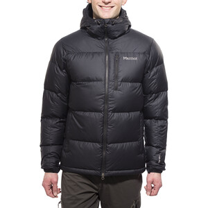 Marmot Guides Daunen-Kapuzenjacke Herren black black