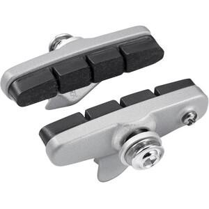 Shimano R55C4 Cartridge Bremsschuhe für Shimano 105 silber silber