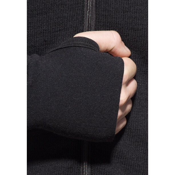 Woolpower 600 Full-Zip Jacke black