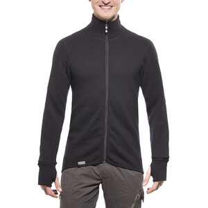 Woolpower 600 Full-Zip Jacke black black