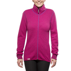 Woolpower 400 Colour Collection Full-Zip Jacke cherise/purple cherise/purple