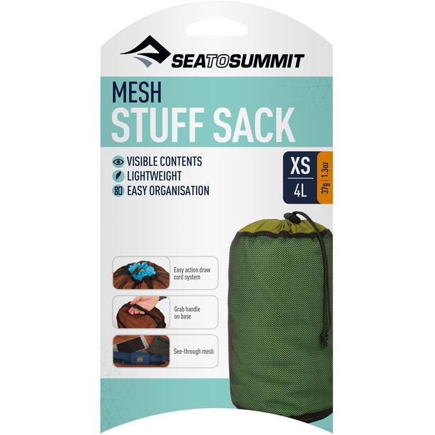 Sea to Summit Mesh Packsack XS green