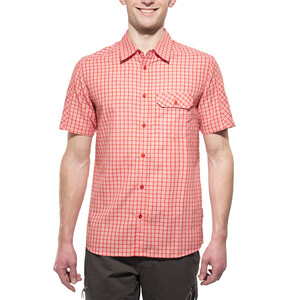 axant Alps Travel Shirt Agion Active Men, red check red check