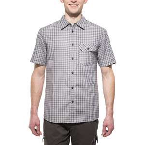 axant Alps Travel Shirt Agion Active Men, grey check grey check