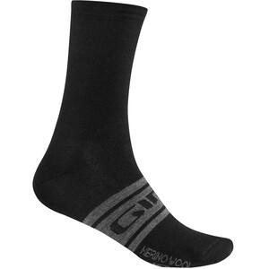 Giro Seasonal Merino Wool Socks black/charcoal clean black/charcoal clean