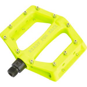 Cube RFR CMPT Flat Pedale neon yellow neon yellow