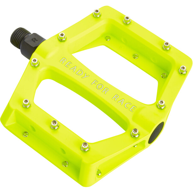 Cube RFR CMPT Flat Pedals neon yellow