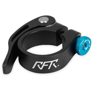 Cube RFR Seat post clamp mit Schnellspanner schwarz/blau schwarz/blau