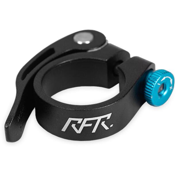 Cube RFR Seat post clamp mit Schnellspanner schwarz/blau