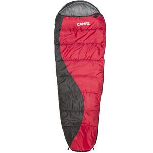 CAMPZ Desert Pro 300 Sac de couchage, rouge/noir rouge/noir