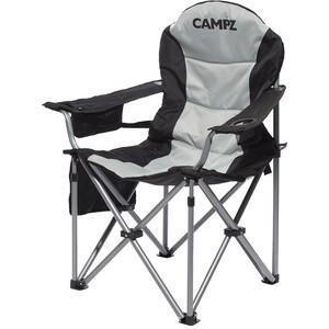 CAMPZ Deluxe Faltstuhl grau/schwarz grau/schwarz