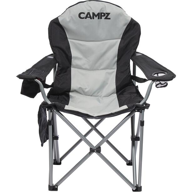CAMPZ Deluxe Faltstuhl black/grey