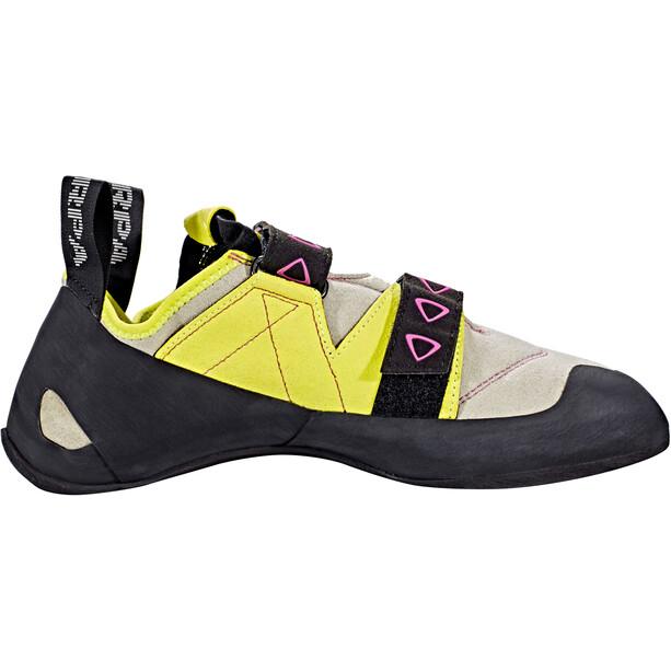Scarpa Velocity Kletterschuhe Damen lightgray/yellow