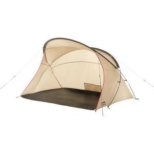 CAMPZ Beachmule Tente de plage, beige/gris beige/gris
