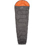 CAMPZ Trekker 500 Schlafsack anthrazit/orange