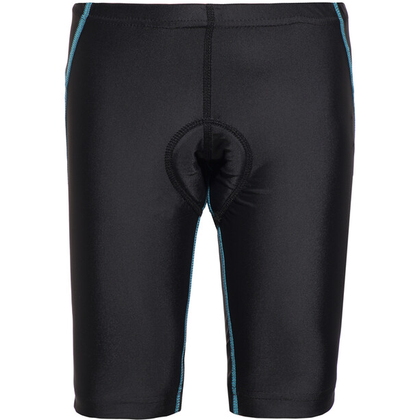 Cube Junior Fahrrad Shorts Kinder black'n'blue