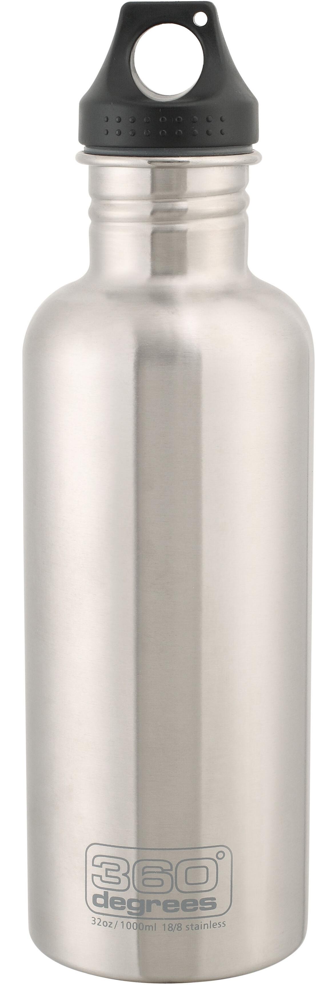 360 degrees stainless drink bottle 1000ml steel. Black Bedroom Furniture Sets. Home Design Ideas