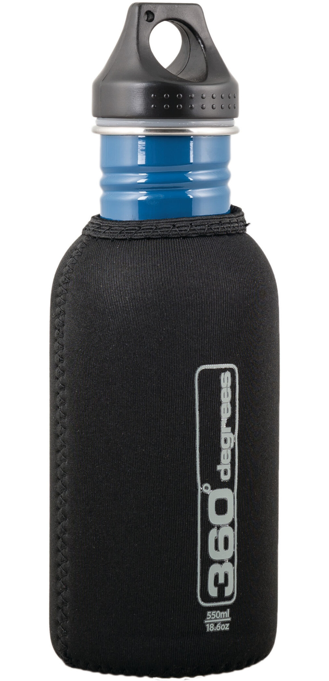 360 degrees stainless drink bottle neoprene pouch 550ml. Black Bedroom Furniture Sets. Home Design Ideas