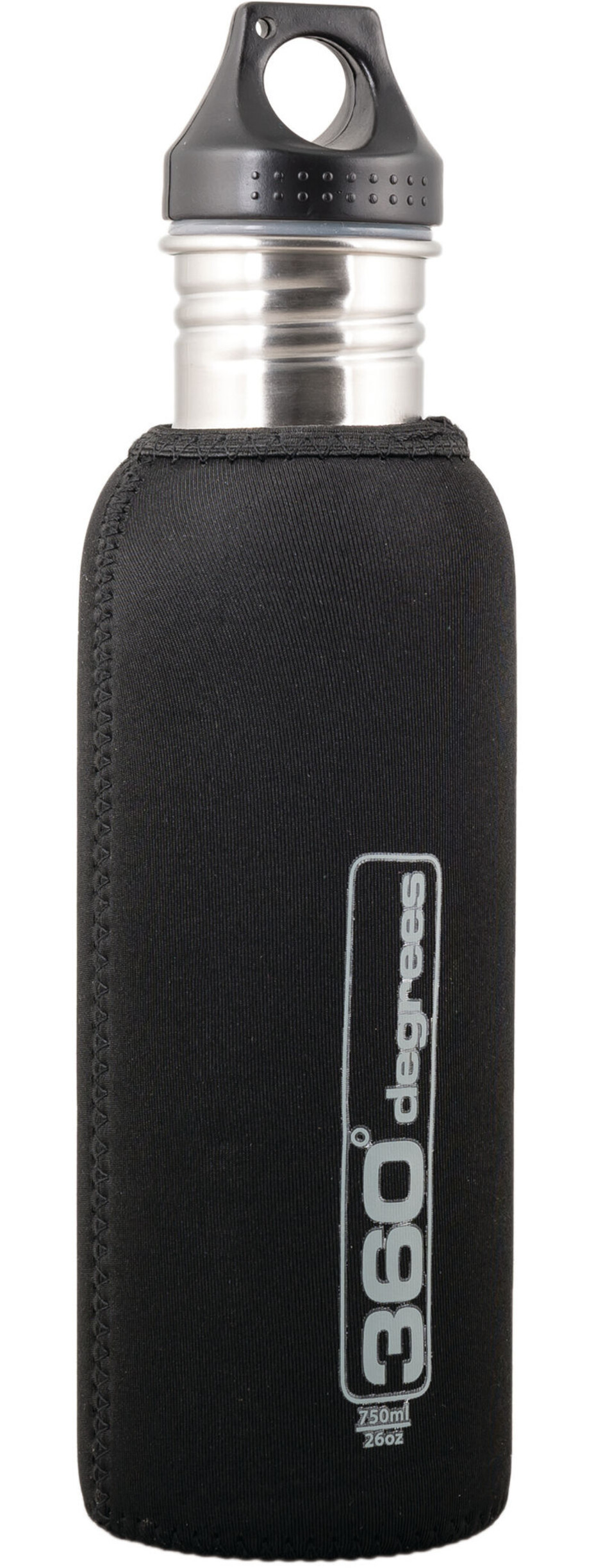 360 degrees stainless drink bottle neoprene pouch 750ml. Black Bedroom Furniture Sets. Home Design Ideas