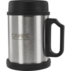 CAMPZ Thermo Mok Staal 400ml, zilver/zwart zilver/zwart
