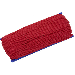 CAMPZ Corde multifonction 50m 3mm, rouge rouge