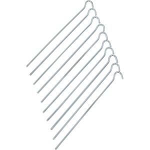 CAMPZ Stahl Erdnagel 25cm Glatt silber silber