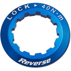 Reverse Cassette lock ring, bleu bleu