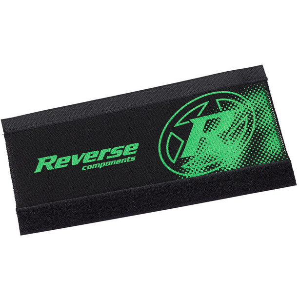 Reverse Neoprene Chainstay Guard schwarz/neon grün