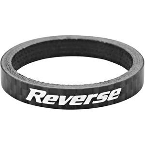 """Reverse Spacer 5mm Carbon 1 1/8"""" schwarz schwarz"""