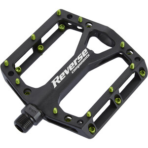 Reverse Black One Pedals black/light green black/light green